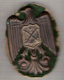 C331 Medalie veche (insigna)interesanta - Militara -Turcia?-starea care se vede, Europa
