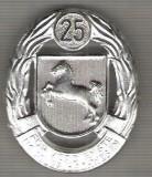 C339 Medalie (insigna)interesanta - Militara -Germania -marime cca 48X40 mm, greutatea aprox 20 gr. -starea care se vede