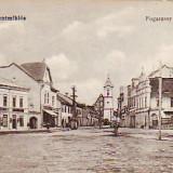 Ok-1282- Romania, Gheorgheni, c.p. necirc. aprox 1917: Strada Fogarassy Mihaly