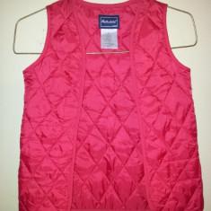 Vesta rosie fete 8-9 ani, de la Rothschild, marimea S, ca noua, Culoare: Rosu