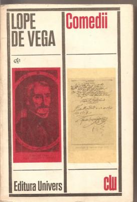 (C2471) COMEDII DE LOPE DE VEGA, EDITURA UNIVERS, BUCURESTI, 1972 foto