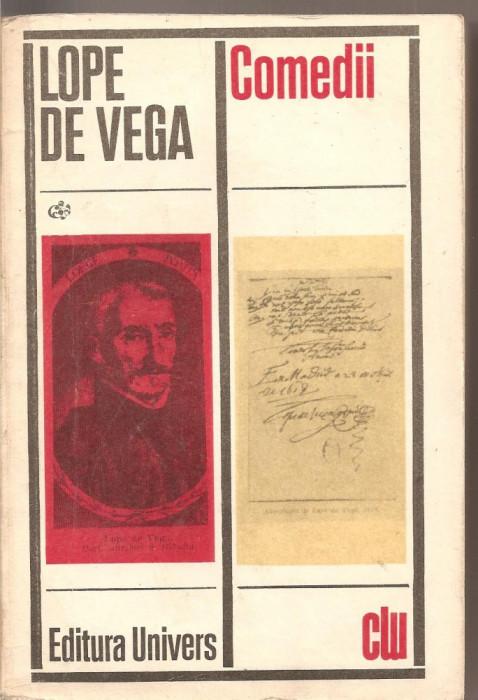 (C2471) COMEDII DE LOPE DE VEGA, EDITURA UNIVERS, BUCURESTI, 1972