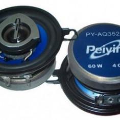 SET DIFUZOARE PEIYING 3.5 inch 60W PYAQ352C - Boxa auto Peiying, 41-80W