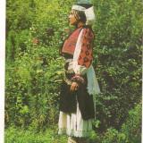 Carte postala(ilustrata)-HATEG-Costum popular din zona Padurenilor, Necirculata, Printata