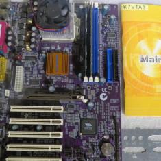 1591plu Kit Placa de Baza Gigabyte cu procesor memorie ram bundle, Pentru AMD, Contine procesor