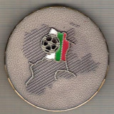 C368 Medalie BALCANIADA DE FOTBAL 1992 -BULGARIA -marime cca 59 mm, gr. aprox 83 gr. -starea ce se vede