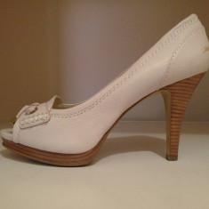 Pantofi dama Nine West Dasher! - Pantof dama Nine West, Culoare: Alb, Marime: 38, Alb