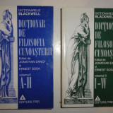 Jonathan Dancy / Ernest Sosa DICTIONAR BLACKWELL DE FILOSOFIA CUNOASTERII - Filosofie, Trei