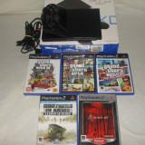 Vand PS2 MODAT + 5 JOCURI ORIGINALE - PlayStation 2 Sony