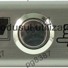 Push buton metalic fara retinere, antivandalism, cu suport - 124778