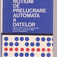 Stelian Niculescu - Notiuni de prelucrare automata a datelor