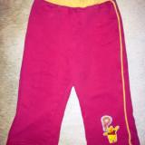 Pantaloni roz grosi din bumbac de trening de la Disney, cu Pooh, fete 2 ani