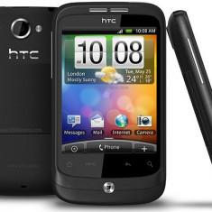 HTC Wildfire (deba resoftat) - Telefon mobil HTC Wildfire, Negru, Neblocat