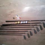 Set Golf  True-Temper Sensicore (8 Crose,5 Mingi Bomerang,15 Cuie,Carucior Bomerang...)