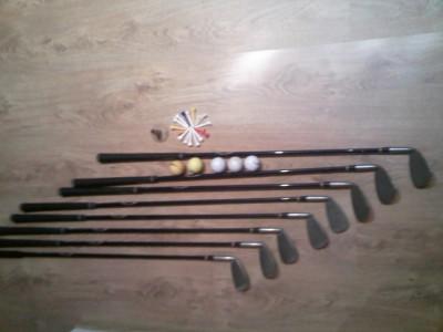 Set Golf  True-Temper Sensicore (8 Crose,5 Mingi Bomerang,15 Cuie,Carucior Bomerang...) foto