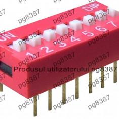 Intrerupator miniatura, comutator DIP x8-5706