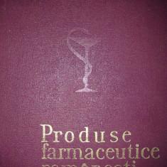 PRODUSE FARMACEUTICE ROMANESTI