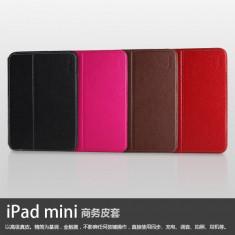 Husa Executive Case Piele Naturala Apple iPad Mini 1 Red by Yoobao Originala - Husa Tableta