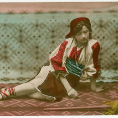 1166 - Arad, Banat, ETHNIC, woman, port popular - old postcrd - unused - Carte Postala Banat 1904-1918, Necirculata, Printata