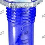 Indicator cu bec, 220V, 8x34mm, albastru - 124803