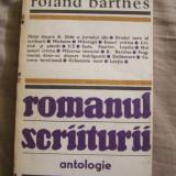 R.BARTHES - ROMANUL SCRIITURII. Antologie. CU AUTOGRAF - A.BABETI PENTRU S.POP