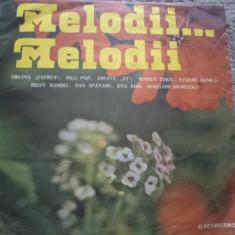 Melodii melodii disc vinyl lp muzica pop usoara romaneasca slagare electrecord, VINIL