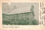B72065 Temesvar Piarista Templom used in 1904  timisoara  circulata