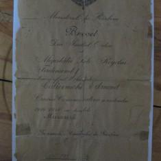BREVET CRUCEA COMEMORATIVA A RAZBOIULUI 1916-1918 CU BARETA MARASESTI - Ordin/ Decoratie, Romania 1900 - 1950