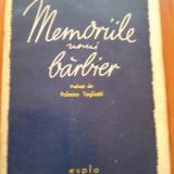 MEMORIILE UNUI BARBIER - Giovanni Germanetto, 1960