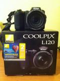 Aparat de fotografiat si filmare video,stare excelent de buna,este detinut de un fotograf,fara zgarieturi carcasa si obiectiv,ecran!, Compact, 14 Mpx, Peste 20x, Nikon