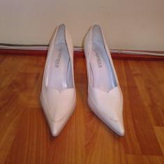 Pantofi mireasa nr37 - Pantof dama, Cu toc