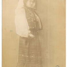 883 - Arad, Banat, ETHNIC woman - old postcrd, real PHOTO - unused - Carte Postala Banat 1904-1918, Necirculata, Fotografie
