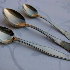 Trei lingurite diferite suedeze din alpacca - Argint, Tacamuri
