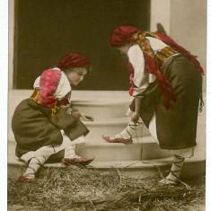758 - Arad, Banat ETHNIC, women, port popular - old postcrd - unused - Carte Postala Banat 1904-1918, Necirculata, Printata