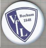 C424 Medalie(placheta magnetica) -Fotbal -  VFL BOCHUM 1848 -Germania -marime 40 mm, gr. aprox 9 gr.-starea care se vede
