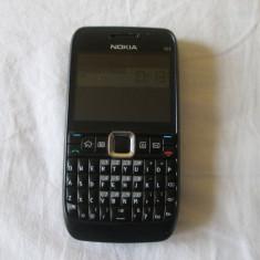 Nokia E63 Black in stare foarte buna - Telefon Nokia, Negru, Neblocat