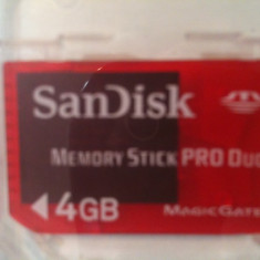 Card memorie SanDisk pro duo Magic Gate 4gb, Mini SD
