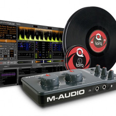 M Audio Torq Conectiv with Control Vinyl and CDs - Mixere DJ