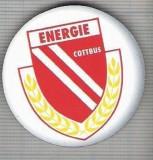C427 Medalie(placheta magnetica) -Fotbal - ENERGIE COTTBUS -Germania -marime 40 mm, gr. aprox 10 gr.-starea care se vede