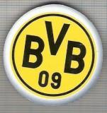 C425 Medalie(placheta magnetica) -Fotbal - Ballspielverein Borussia 09 e.V. Dortmund -Germania -marime 40 mm, gr. aprox 9 gr.-starea care se vede