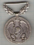 C487 Medalie IN AMINTIREA INALTATORULUI AVANT 1913 -DIN CARPATI PESTE DUNARE LA BALCANI-marime 49x33 mm, gr. aprox. 18 gr.-starea care se vede