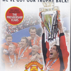 DVD Manchester United 2002-2003 plus bonus DVD Premiership Years