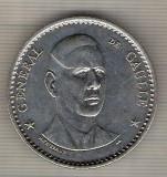 C495 Medalie - GENERAL DE GAULLE -gravor H.Thiebaud -Franta -marime 40 mm,gr.aprox.31 gr.-starea ce se vede