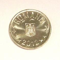 ROMANIA 50 BANI 2012 COMUNA UNC - LUCIU DE MONETARIE - DIN FISIC DE BANCA ** - Moneda Romania