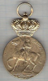 C489 Medalie 100 ANI DE LA NASTEREA PRIMULUI REGE AL ROMANIEI 1839-1939 -CAROL I -marime 35x55 mm, gr. aprox. 25 gr.-starea care se vede