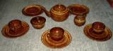 Set / Serviciu - Mic Dejun / Cafea / Desert - ceramica - Germania - marcat