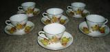 Set / Serviciu ceai / cafea - portelan China - 6 persoane - NOU!