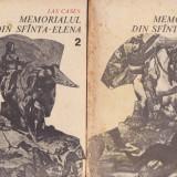 MEMORIALUL DIN SFANTA-ELENA de LAS CASES 2 VOLUME - Roman, Anul publicarii: 1987
