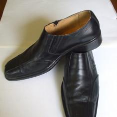 PANTOFI BARBATI, MARIMEA 41, DIN PIELE ROMANEASCA - Pantof barbat, Piele naturala, Negru
