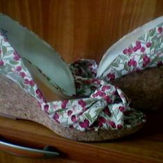 Sandale H&M - Sandale dama H&m, Culoare: Alb, Marime: 39, Alb